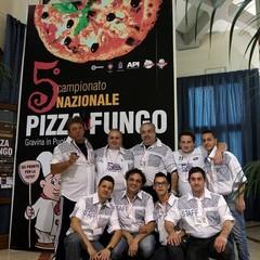 Campionato di pizza al fungo