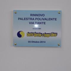 Inaugurazione Polivalente via Dante