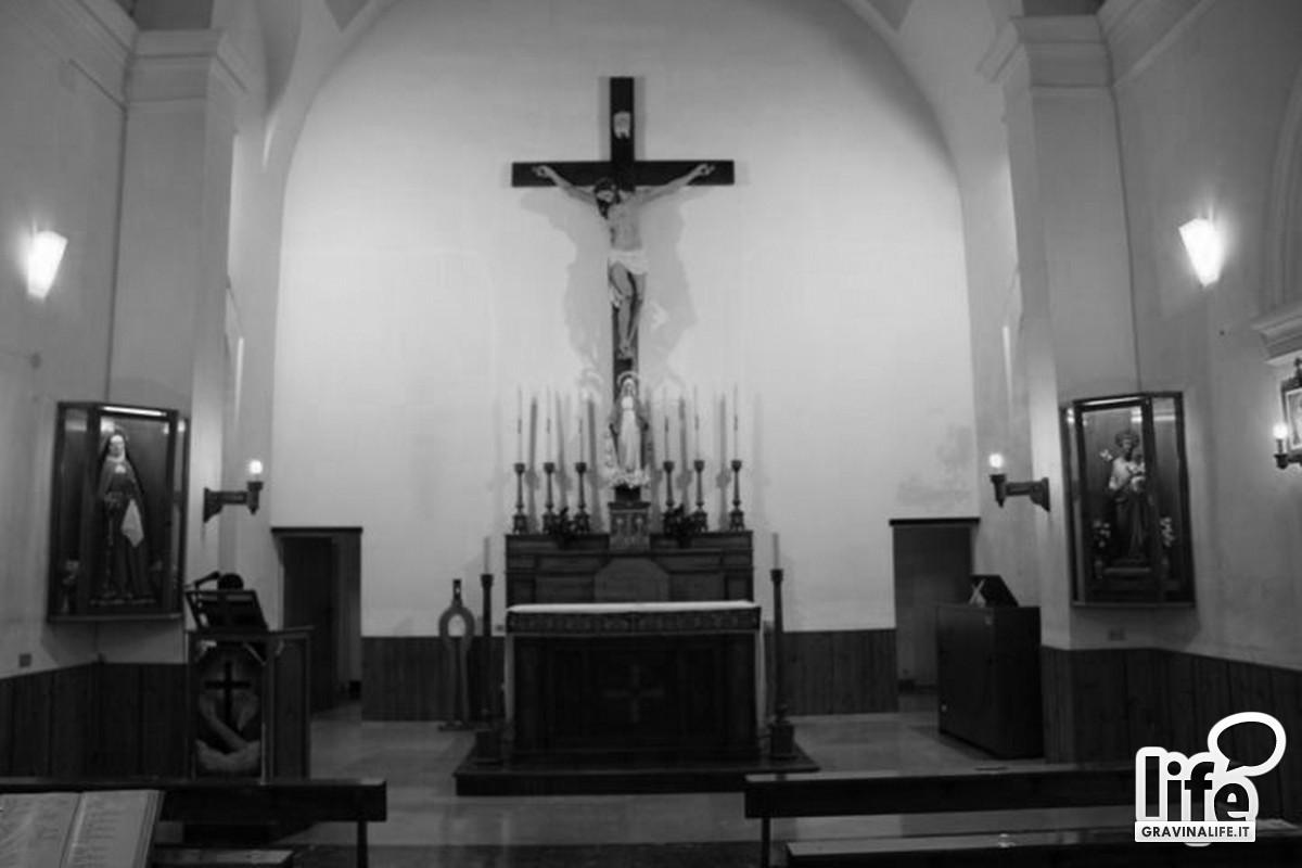 Interno della chiesa di San Felice in una foto pi recente