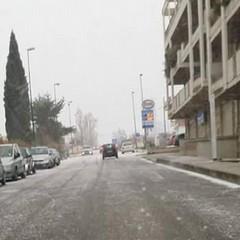 Neve, via Bari Gravina