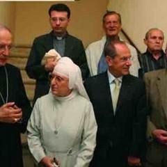 Altro momento della cerimonia di inaugurazione di Casa Orsini