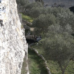 Auto lanciata sulla Madonna della Stella (foto P. Amendolara)