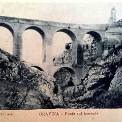 Cartolina storica del ponte risalente ai primi anni del del secolo scorso