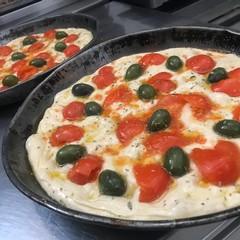 focacce, pane e pizza