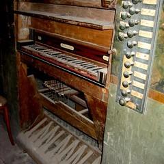 Consolle Organo prima del restauro chiesa del Purgatorio
