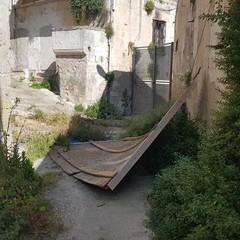 degrado zona santa Lucia- quartiere Piaggio