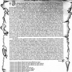 Documento donazione S Angelo del Frassineto