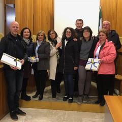 delegazione Erasmus ricevuta al Comune
