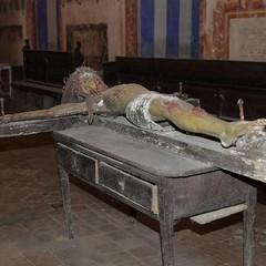 """passeggiando con la storia- Il Crocifisso del  """"Soccorpo"""" della cattedrale"""
