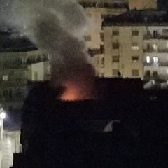 Incendio via Garibaldi 3