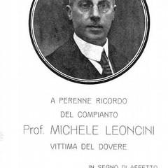 Immagine professore Leoncini