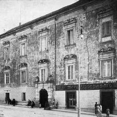 Palazzo Orsini in cui nacque Teresa