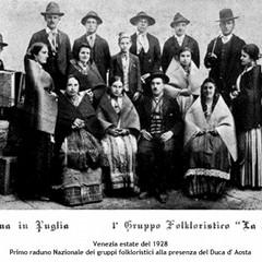 passeggiando con la storia- gruppo folk la zita