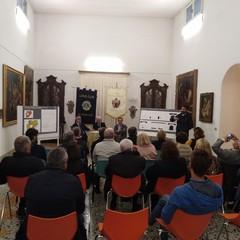 conferenza stampa ristrutturazione pinacoteca Fondazione Santomasi