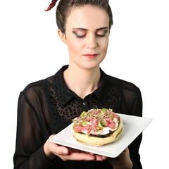 ritratto panino