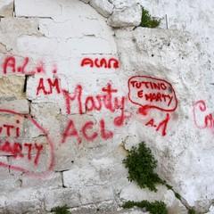 Scritte a Santa Lucia