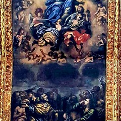 passeggiando con la storia- cielo della cattedrale