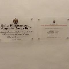 targa Amodio - Fondazione Santomasi