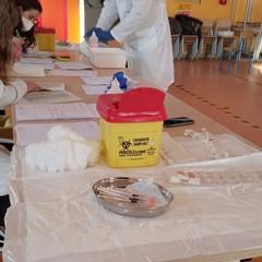 """vaccinazione nella scuola """"Don Saverio Valerio"""""""