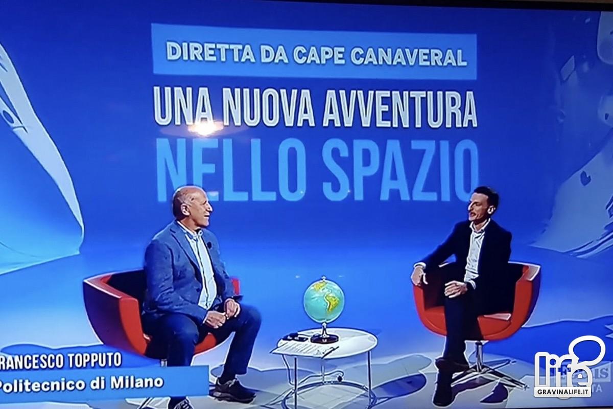 Francesco Topputo (a dx) a Focus TV