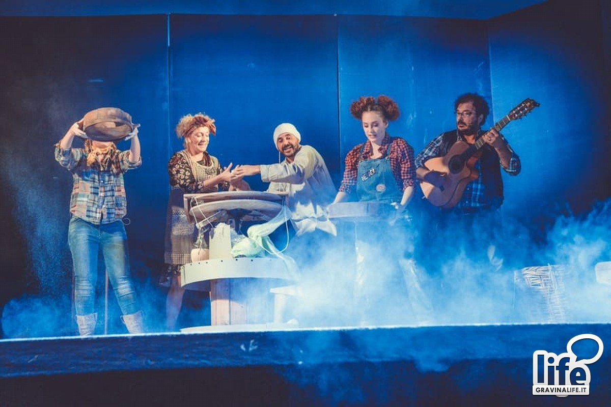 la magia dei legumi- spettacolo teatrale