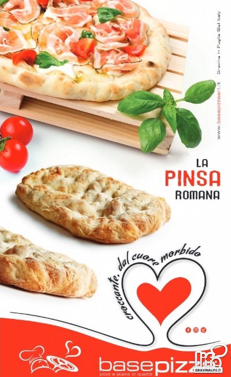 Pinsa Romana di Base Pizza