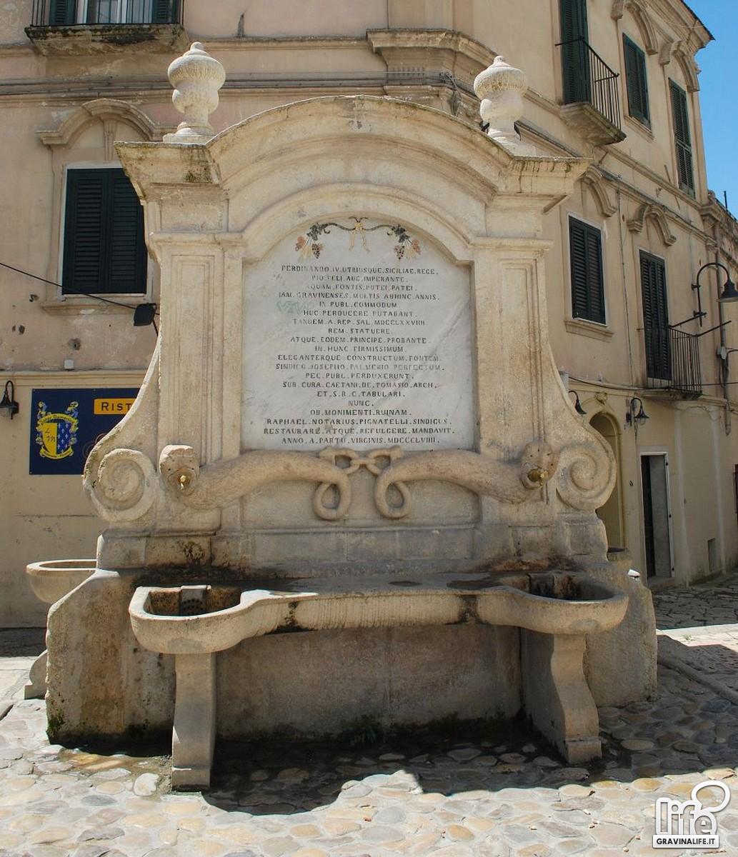 Fontana orsiniana- Passeggiando con la storia