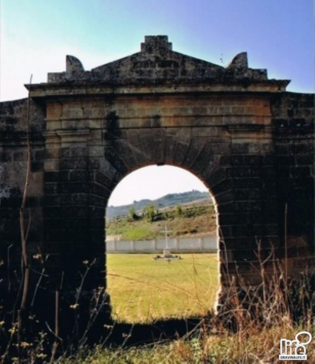 terra santa- resti portale d'ingresso