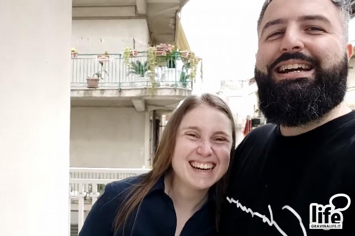 Silvia e Saverio- coppia di futuri sposi