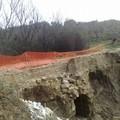 """In Zona """"alvanello"""" crollato ponte """"Canale della sirena""""."""