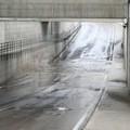 La pioggia rende impraticabile il più nuovo dei sottovia