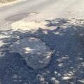 Buca pericolosa in Via Grottamarallo