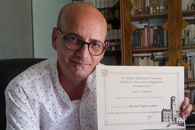 Renzo Paternoster riceve il