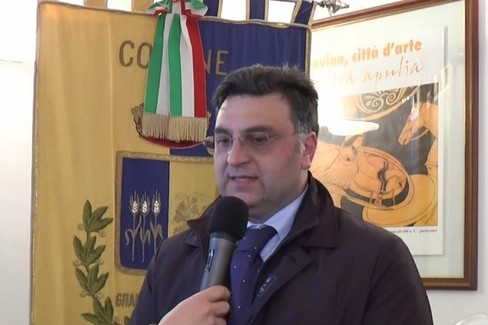l'ex assessore Alessio Dipalma