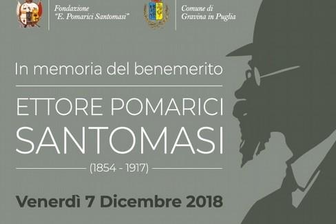 anniversario morte Ettore Pomarici Santomasi