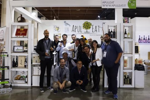 Team ApulEat alla fiera Cosmo Food - Vicenza