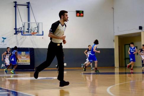 Gaetano Settembre- arbitro di basket