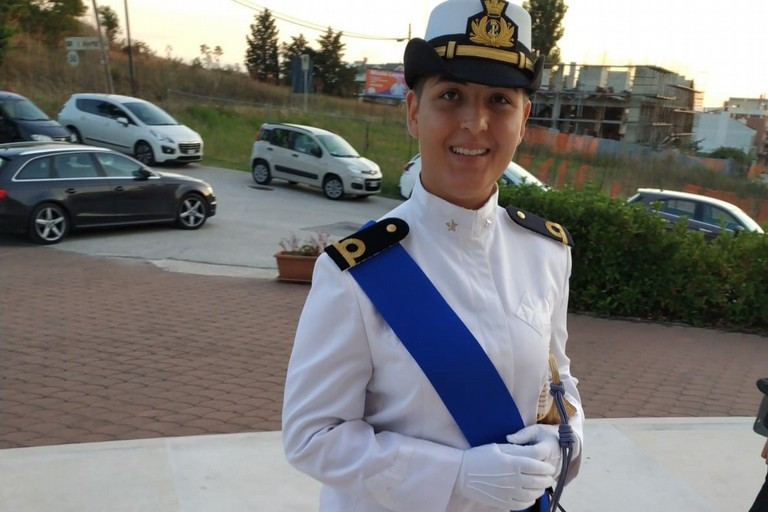 Arcangela Trotta-  pilota Marina Militare