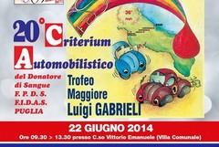 Il Criterium Automobilistico in piazza a Gravina