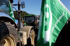 Gli agricoltori scendono in piazza per tutelare la categoria