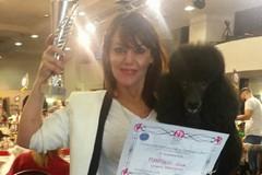 Esordio della toelettatrice gravinese Luisa Manfredi al 10° Master Show Professional Grooming 2017