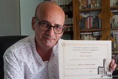 """Renzo Paternoster riceve il """"Premio Speciale della Giuria"""" al 42° Premio Letterario Casentino"""