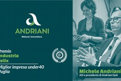Andriani Spa premiata da Industria Felix