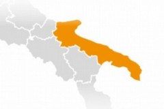 La Puglia torna nell'area arancione