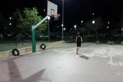 Campo Basket zona Pip, pericoloso giocarci