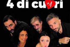 "Al Vida la compagnia Calandra presenta ""4 di Cuori (+1)""."