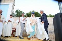 Nuova statua alla Madonna della Grazia