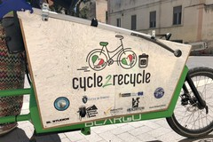 """Cycle to recycle"" fa tappa a Gravina"