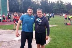 Atletica, nuovo primato di D'Agostino nel getto del peso