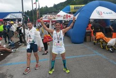 "Michele Debenedictis alla ""Pistoia - Abetone, Ultramarathon 50 km"""